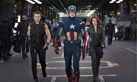 Resistance is futile … Marvel's Avengers, who return next year in a sequel, Age of Ultron.
