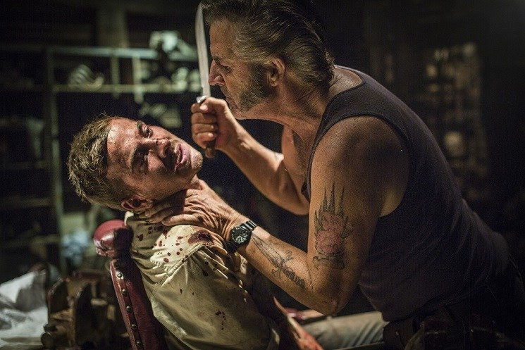 WolfCreek2_John_Jarratt_as_Mick_Taylor_and_Ryan_Corr_as_Paul_Micks_torture_chamber_7