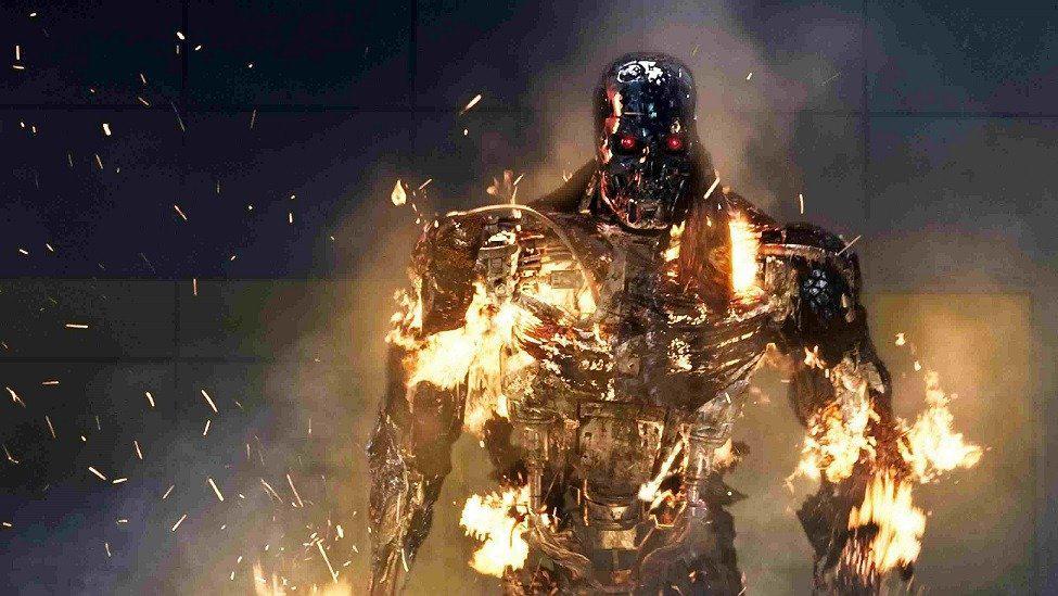 terminator flames