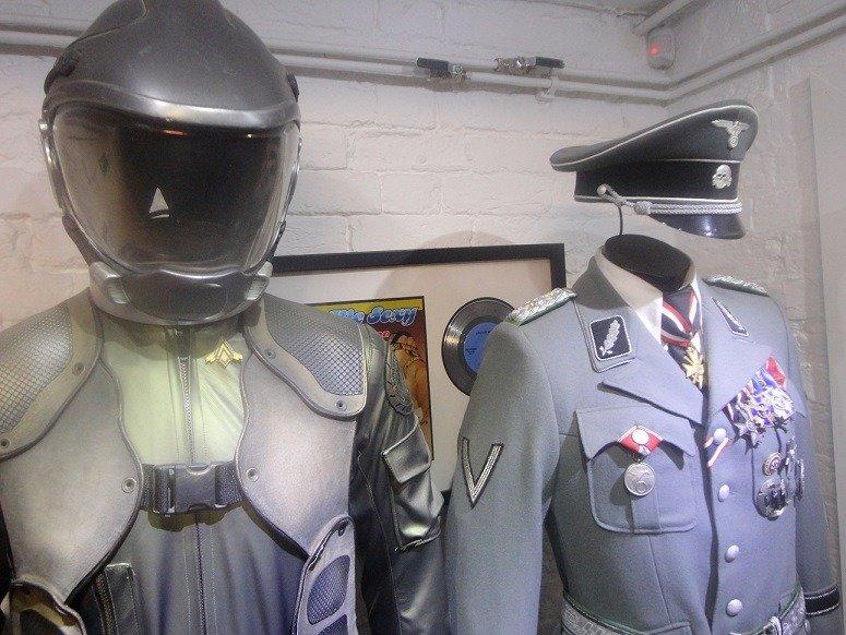 Battlestar Galatica and Inglorious Bastards costumes