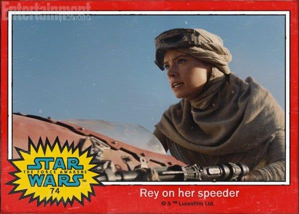Rey on her speeder