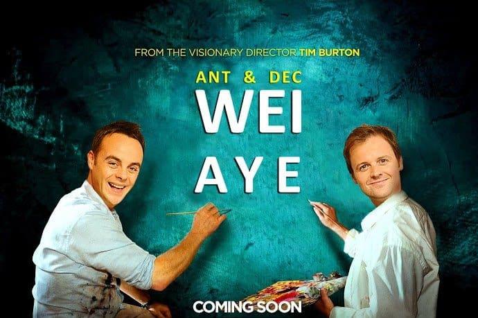 Wey Aye with Ant & Dec (Big Eyes)