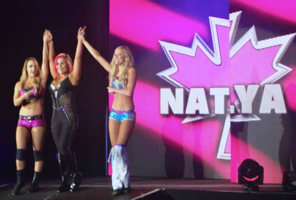 Divas WWE Live in the UK Manchester