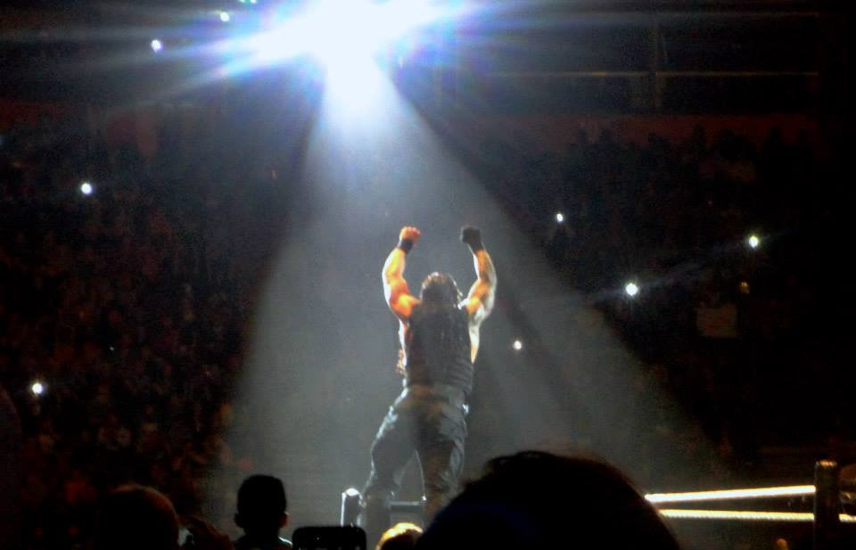 Roman Reigns WWE Live in the UK Manchester