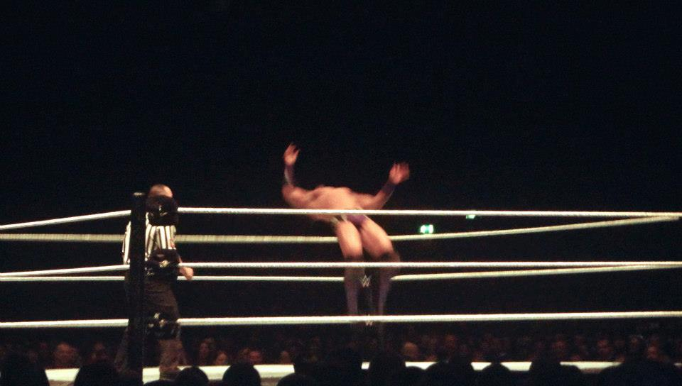Neville - WWE Live in the UK Manchester