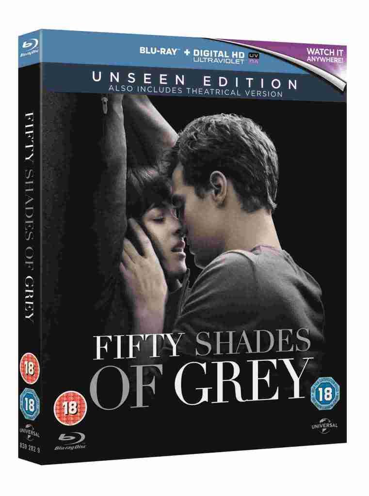 Fifty Shades of Grey 3D Blu-ray packshot