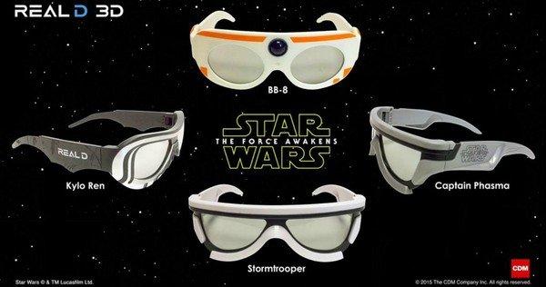 Star Wars Real D glasses