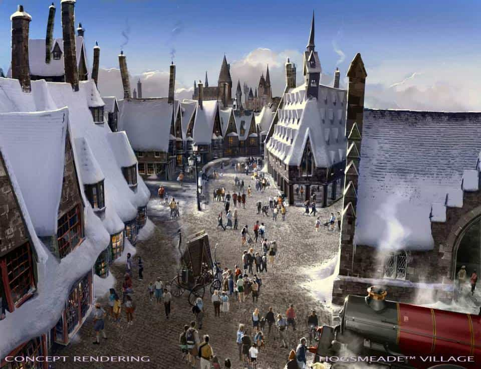 Wizarding World of Harry Potter Hollywood concept