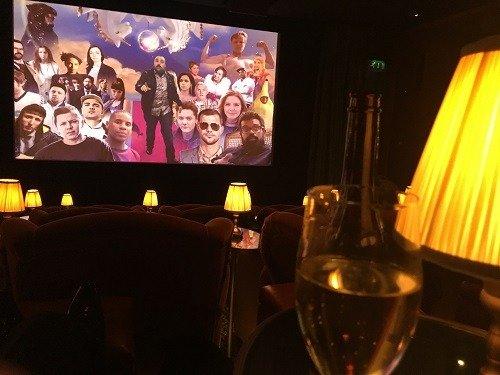 Soho House screening room