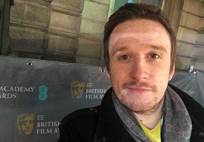 Sean Evans BAFTA 2016 selfie