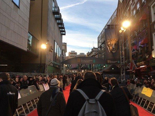 Sean Evans - Red Carpet - BAFTA'S 2016