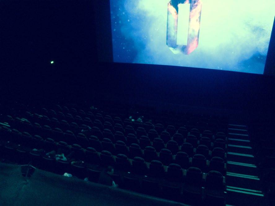 Odeon view from Gallery seating