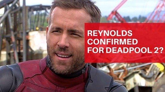 Ryan Reynolds Confirmed for Deadpool 2