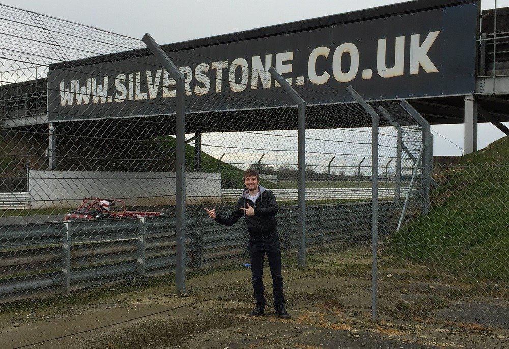 Sean Evans at Silverstone