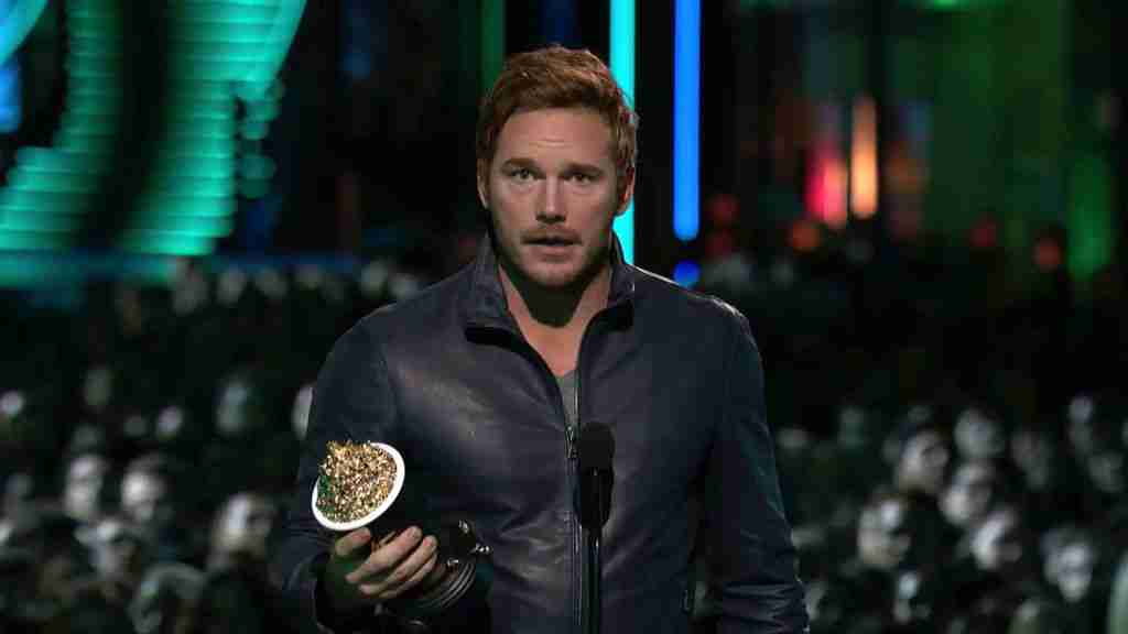 Chris Pratt Wins Best Action Performance Award