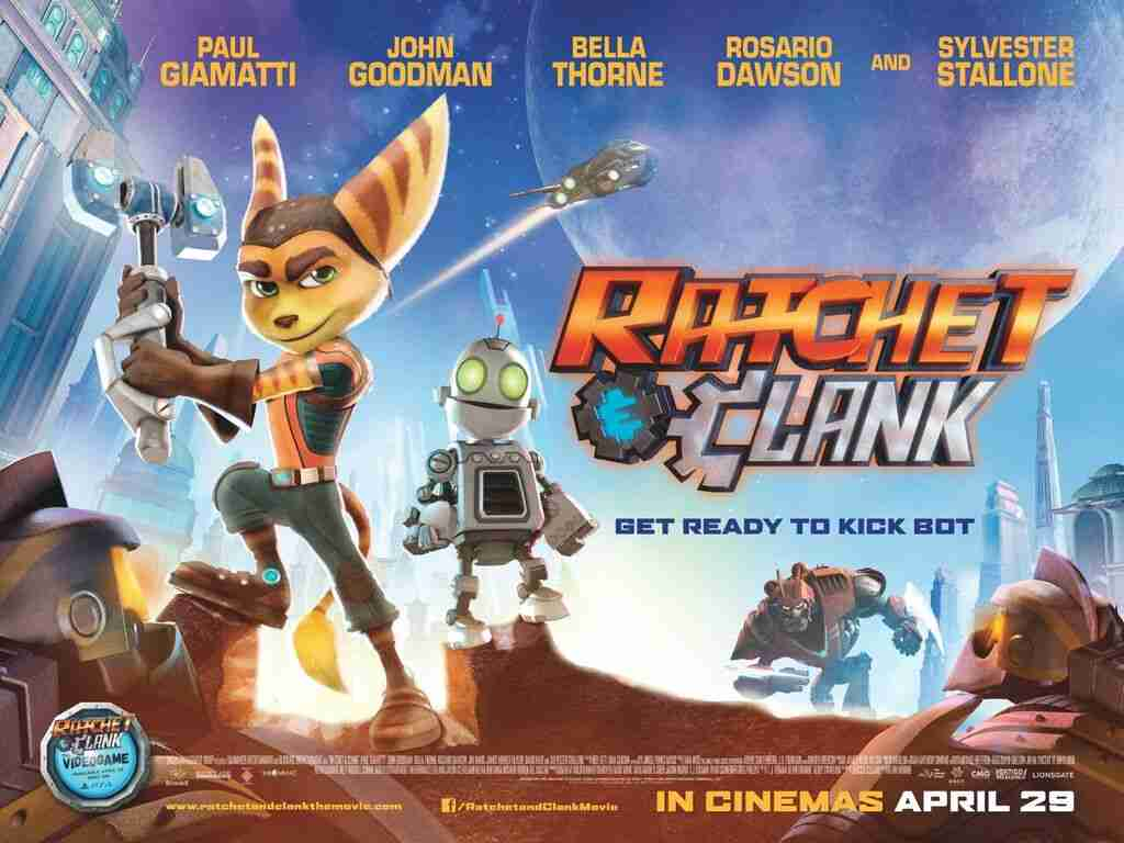 Rachet and Clank Movie