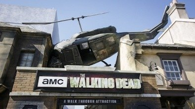 Universal Studios Walking Dead attraction