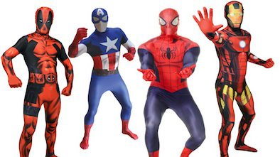 Marvel Morphsuits