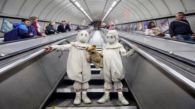 Twins - London Underground