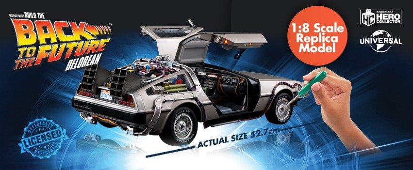 Eaglemoss Delorean