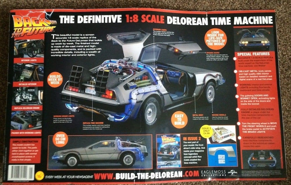 Build the Back to the Future Delorean (Back)