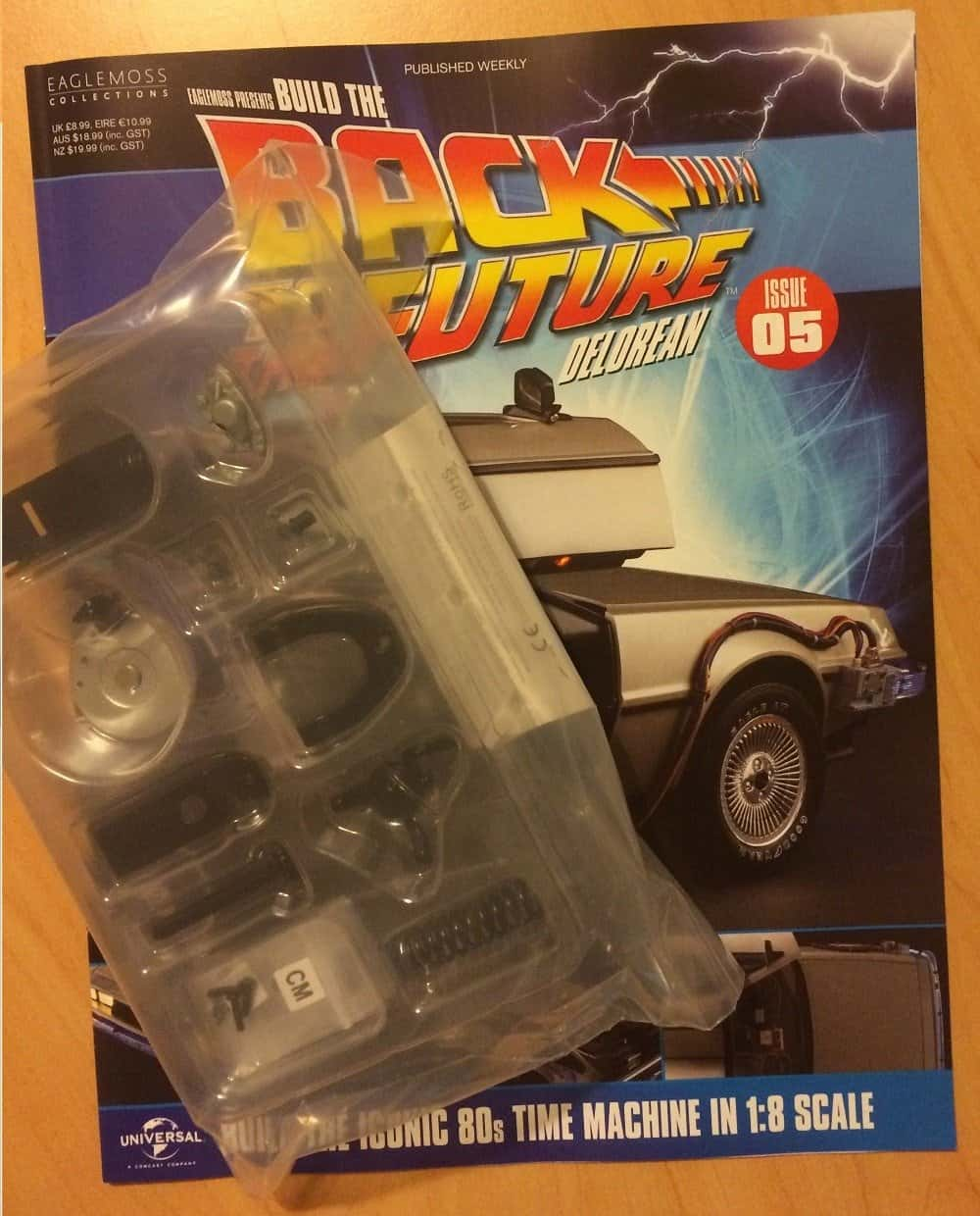 Building The Delorean Issue 5  Back To The Movies-3885
