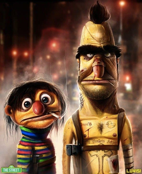 Cartoon Characters As Serial Killers