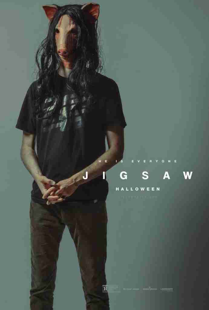 Jigsaw Character Poster