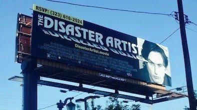 Disaster Artist Billboard