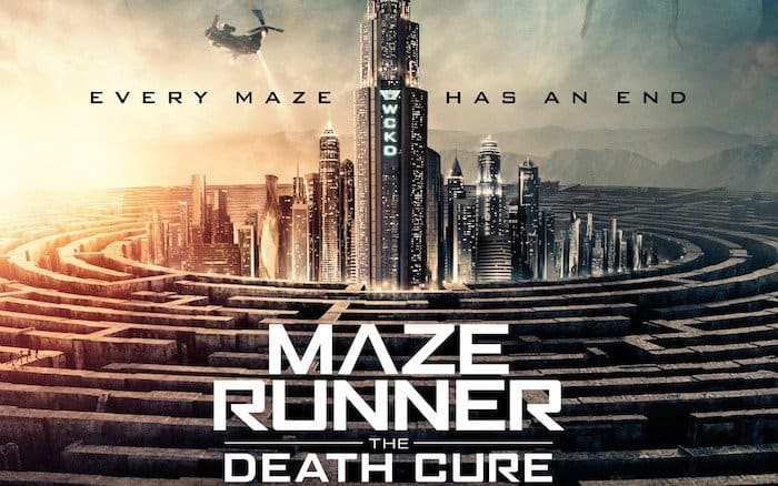 maze runner the death cure IMAX
