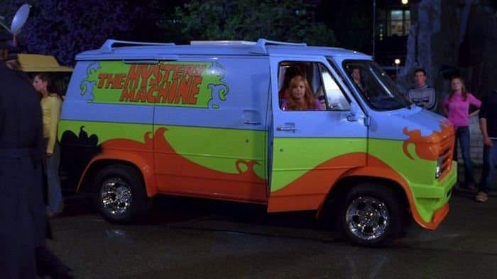 comic vans from tv and movies