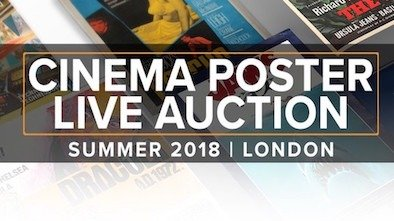 Prop Store Cinema Poster Live Auction
