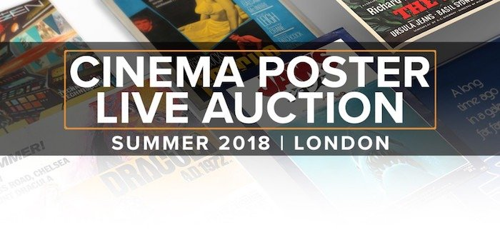 Prop Store Cinema Poster Live Auction