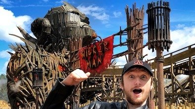 Alton Towers Wicker Man Ride Review