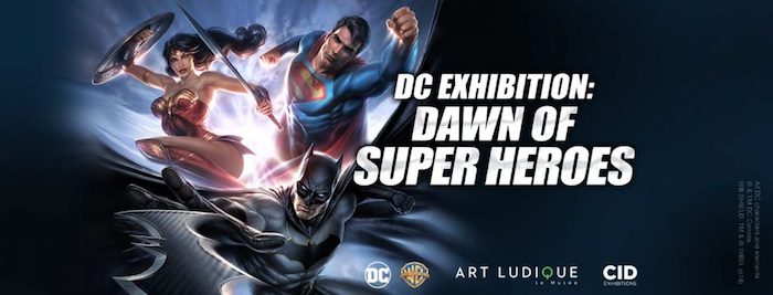 Dawn of Supeheroes Exhibition Review