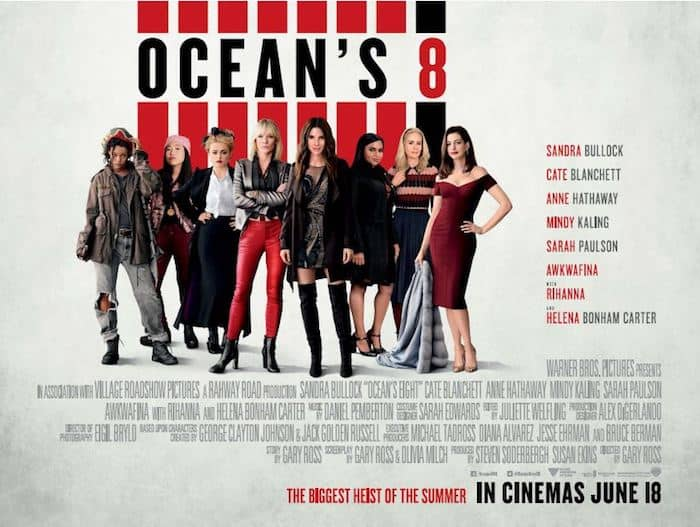 Oceans 8 Competition