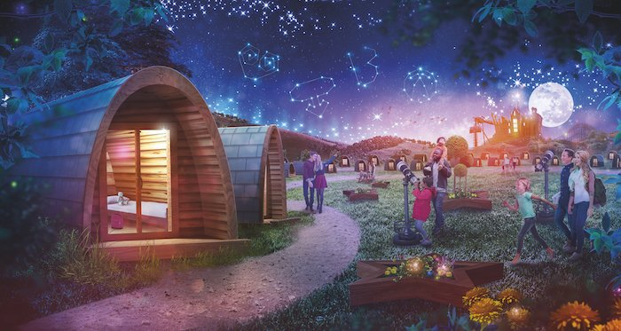 Alton Towers's Stargazing Pods Review